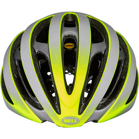Bell Z20 Ghost MIPS Casco, gris/amarillo
